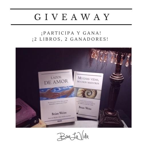 ¡participa y gana!¡2 libros, 2 ganadores!